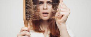 موهای خشک
